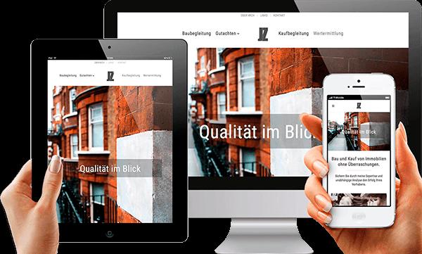 Cleversite Referenz Webseite JZ Bauberatung
