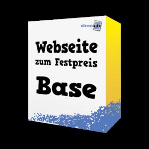 Webseite zum Festpreis Paket Base